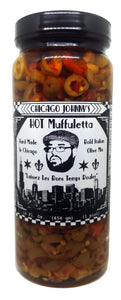 chicago hot muffuletta olive mix