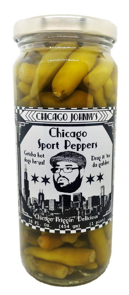 Chicago style sport peppers for hot dogs