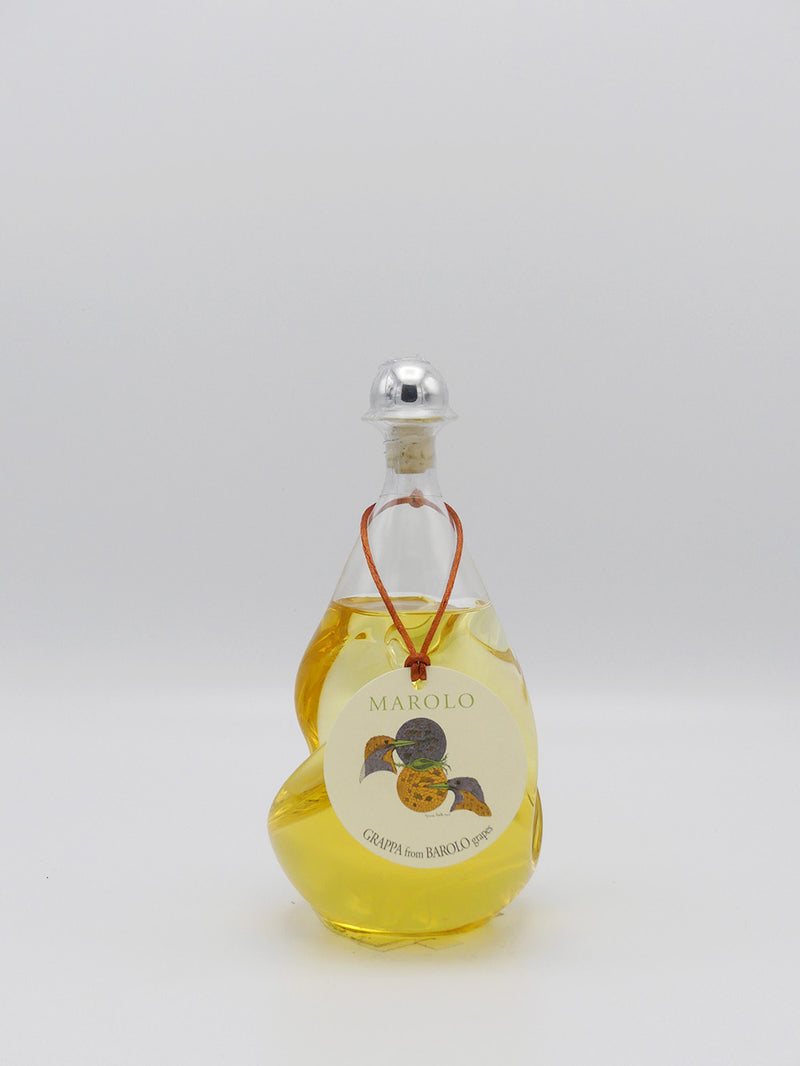Marolo Grappa Barolo Twist Bottle