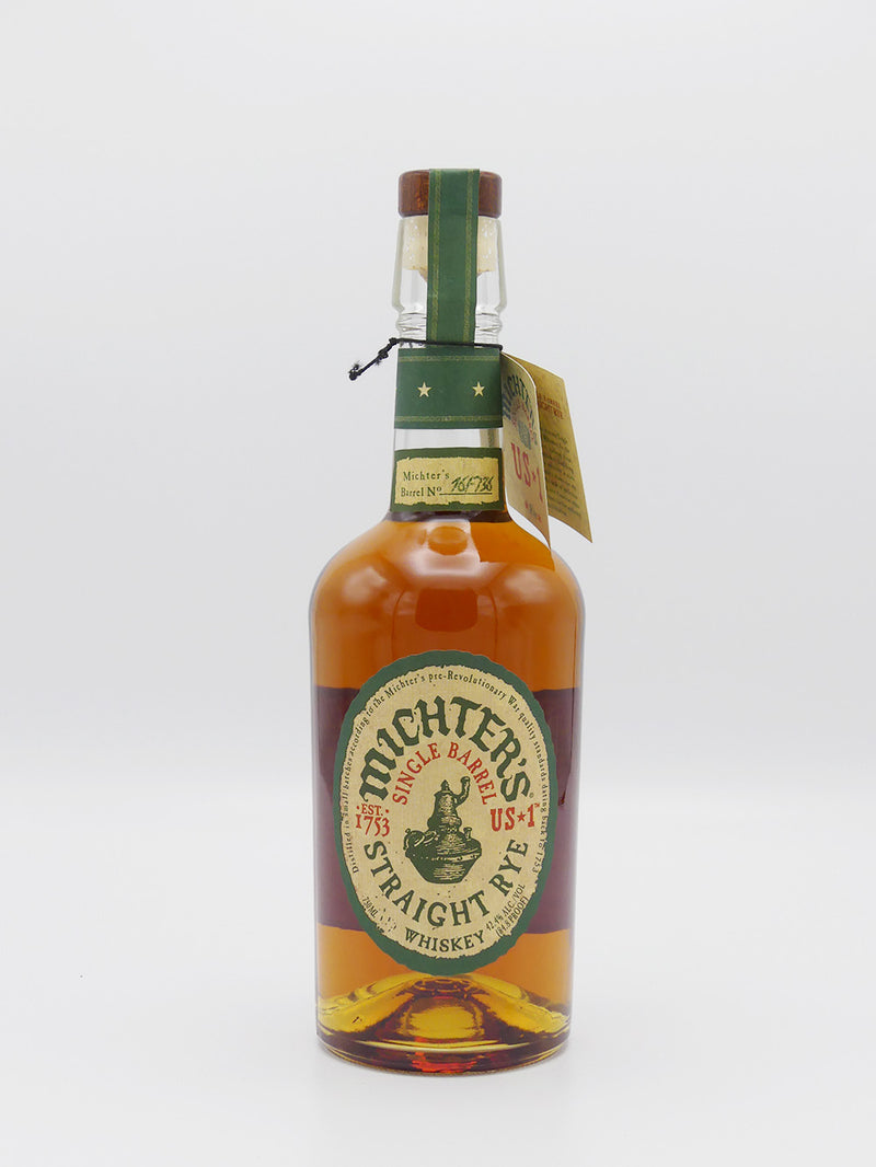 Michter's Single Barrel Streight Rye