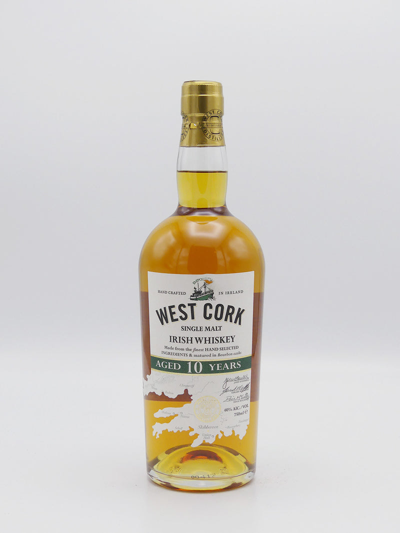 West Cork Single Malt Irish Whiskey 10 Years