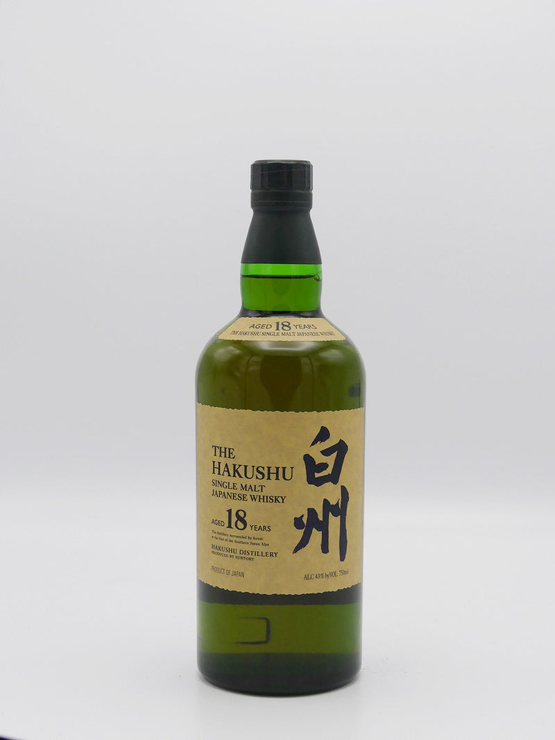 The Hakushu Single Malt 18 Years