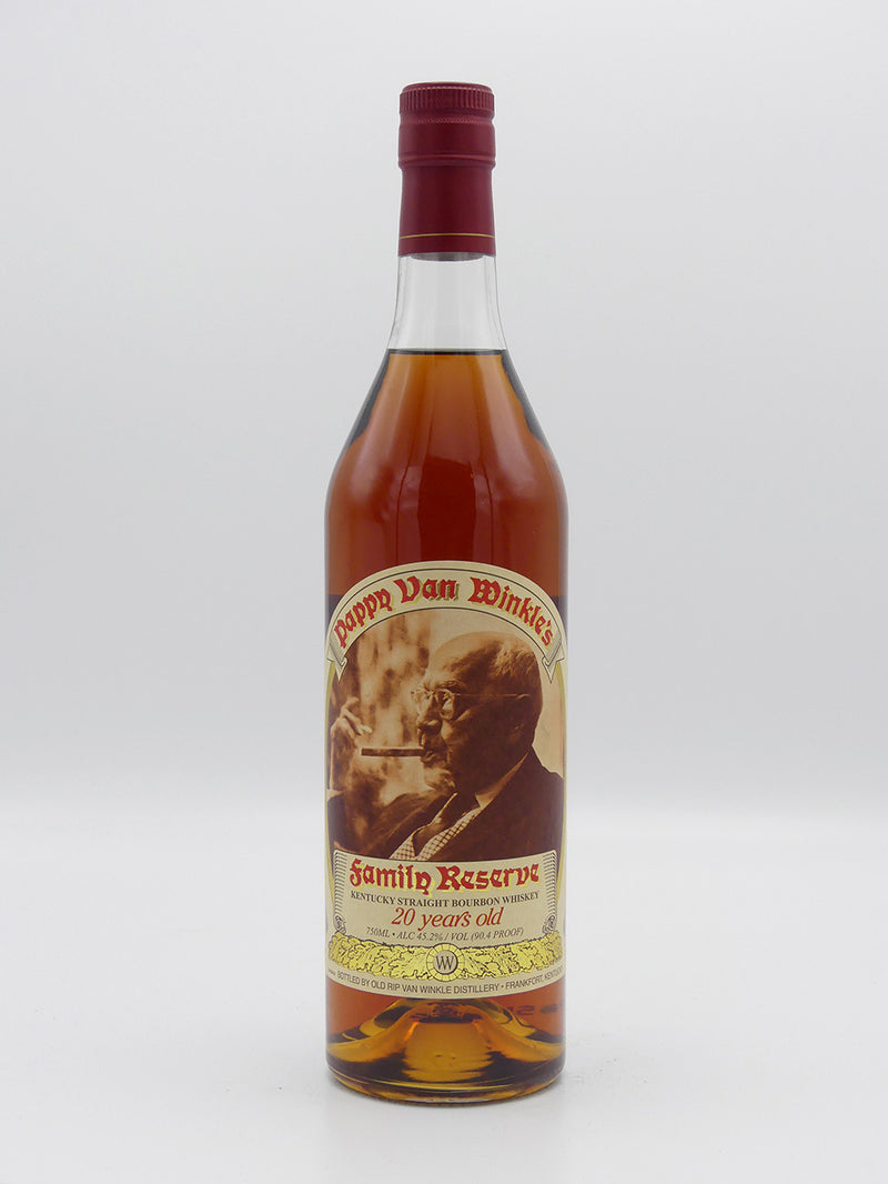 Pappy Van Winkle's Family Reserve Bourbon 20 Year Old