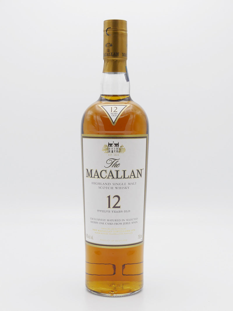 The Macallan Sherry Oak Cask 12 Years