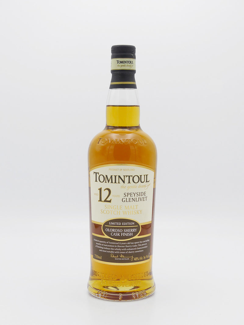 Tomintoul Oloroso Sherry Cask 12 Years