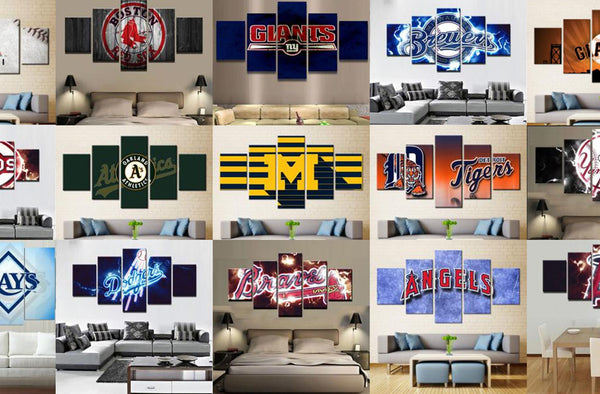 Gifts Guide for Sports Fans: Sports Canvas Wall Art