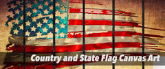 Country Flag Canvas Art Collection by panelwallart.com