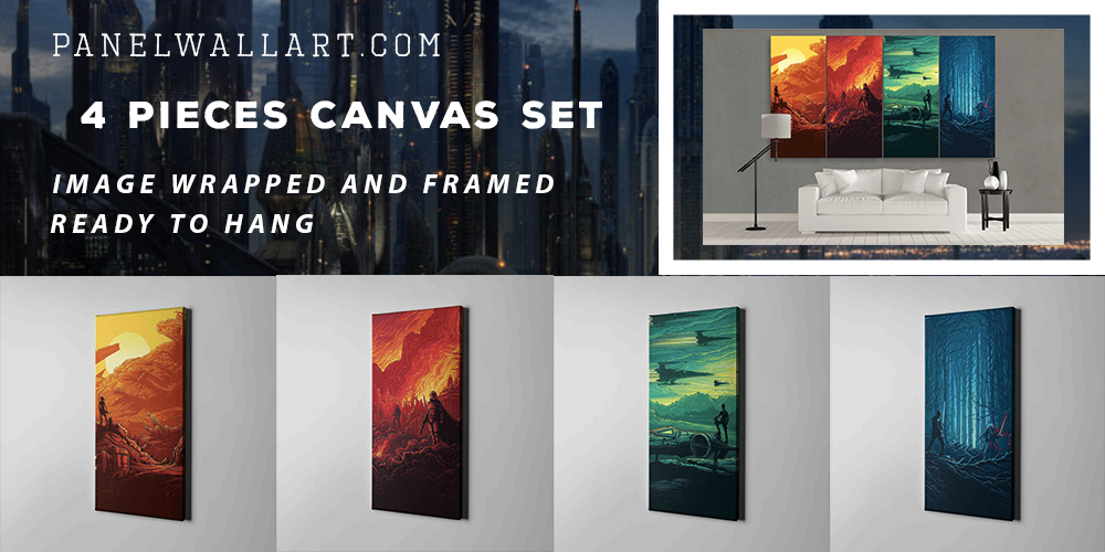 Star Wars Canvas Art | Panel Wall Art