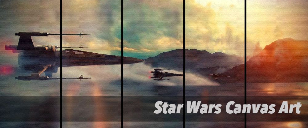 Star Wars Canvas Art By PanelWallArt.com