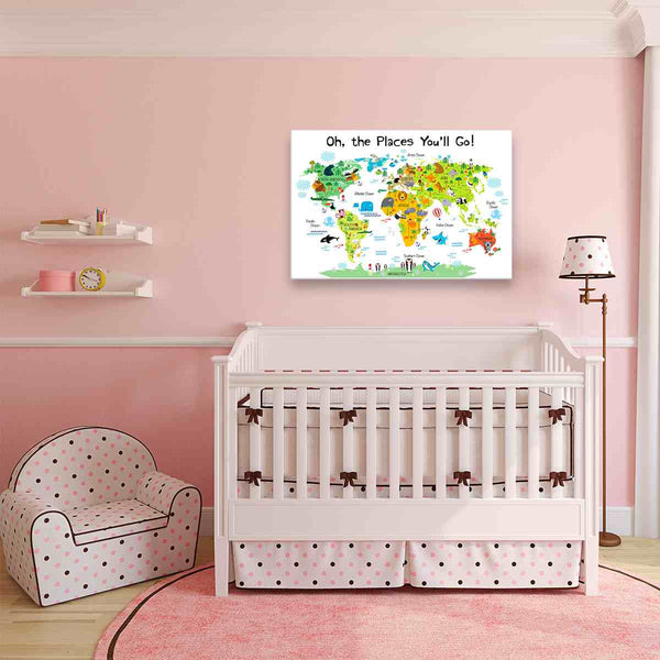 Nursery Canvas Wall Art | PanelWallArt.com