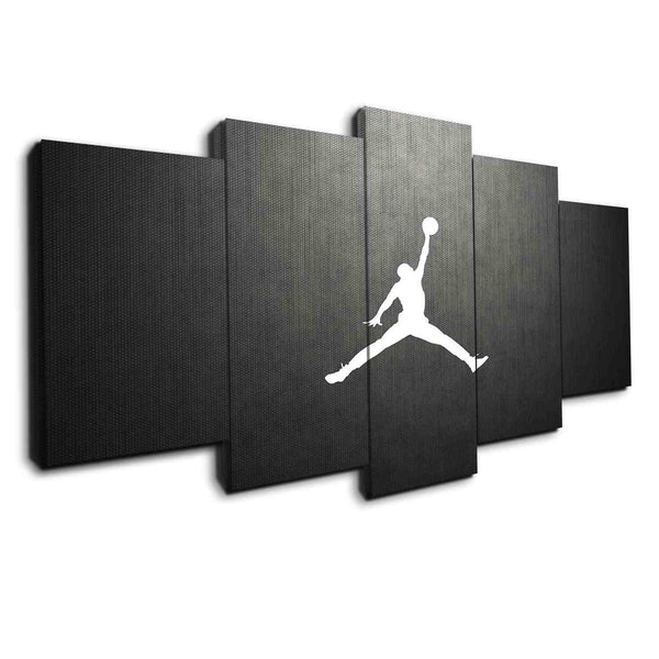 michael jordan canvas wall art by panelwallart.com