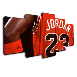 bulls michael jordan nba sports canvas wall art by panelwallart.com