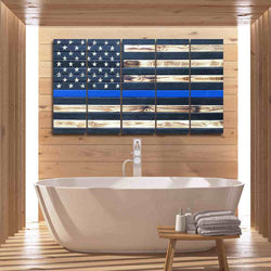 albyden art - Thin Blue Line