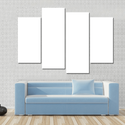 Custom Canvas 4 Panels Design