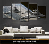 Imperial Star Destroyer - Star Wars | Black Friday Cyber Monday Sale | Panel Wall Art Canvas