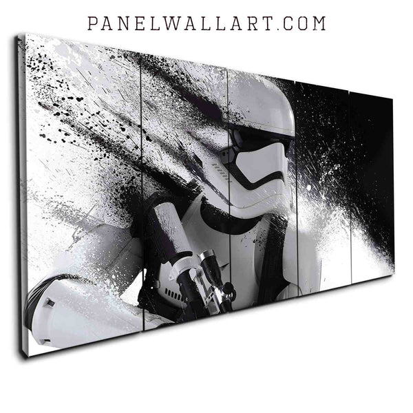 5 pieces star wars canvas prints panel wall art Stormtroopers The Force Awaken