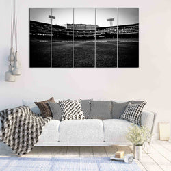 5 panel fenway park canvas wall art for red sox NFL team