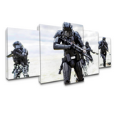Death Troopers | Black Friday Cyber Monday Sale | Panel Wall Art Canvas