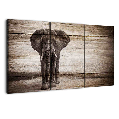 amazon canvas prints of elephants by albyden art sold at panelwallart.com