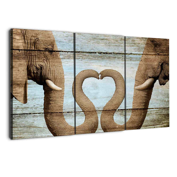 elephant canvas wall art prints by albyden art sold at panelwallart.com