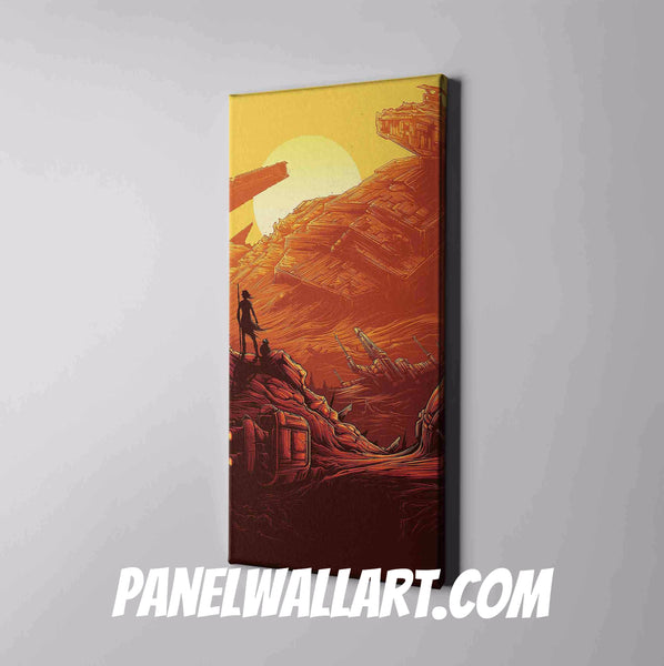 Star Wars Canvas Print Framed | Panel Wall Art