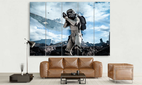 Star Wars Storm Trooper in Battle