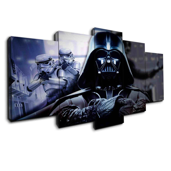 Darth Vader In Charge | Black Friday Cyber Monday Sale | Panel Wall Art Canvas