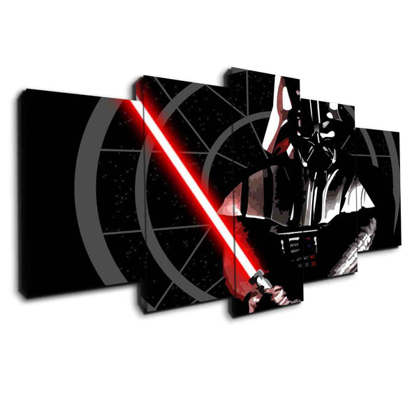 Darth Vader Won | Black Friday Cyber Monday Sale | Panel Wall Art Canvas