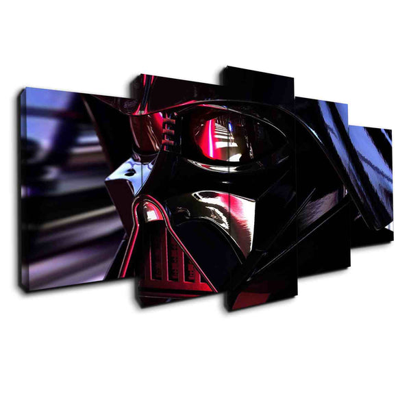 Closer to Darth Vader | Black Friday Cyber Monday Sale | Panel Wall Art Canvas