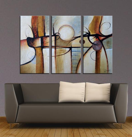 Dancing Queens abstract 3 pieces oil painting canvas wall art amazon