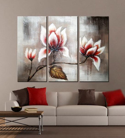 Rememberance abstract 3 pieces oil painting canvas wall art amazon