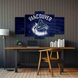 Vancouver Canucks canvas wall art prints on sale black friday