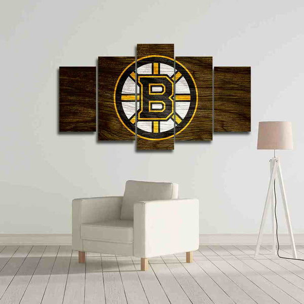 Boston Bruins canvas wall art prints on sale black friday