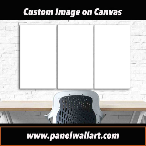 custom canvas on demand 3 pieces canvas wall art panels