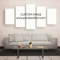 5 Panel Sports Custom Image On Canvas