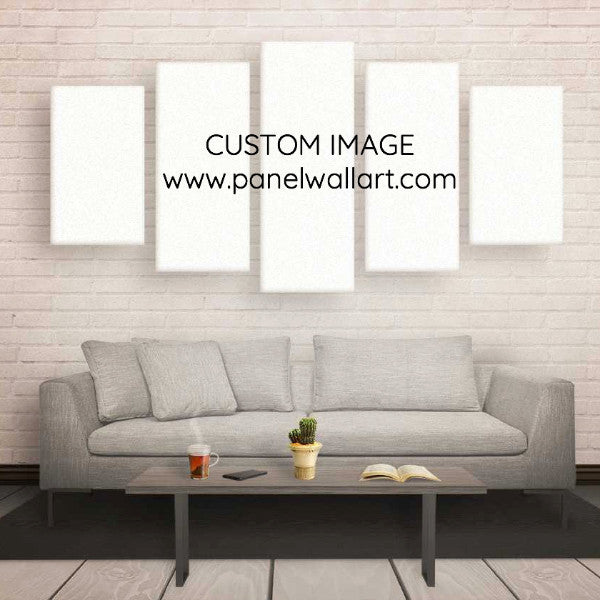 5 Panel Custom Canvas Prints