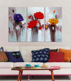 Mix and Match abstract 3 panels oil painting canvas wall art etsy
