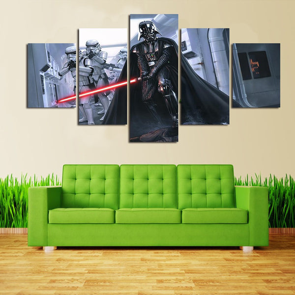 Star Wars Darth Vader | Black Friday Cyber Monday Sale | Panel Wall Art Canvas