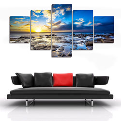 5 Panel Landscape Wall Art