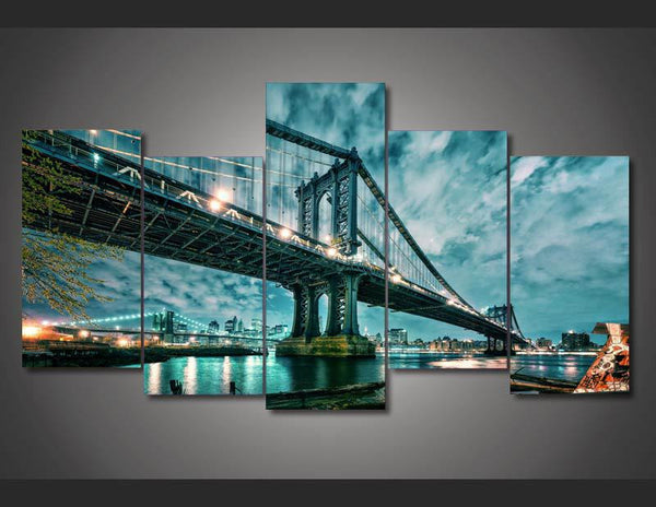 Brooklyn Manhattan Bridge | Black Friday Cyber Monday Sale | Panel Wall Art Canvas