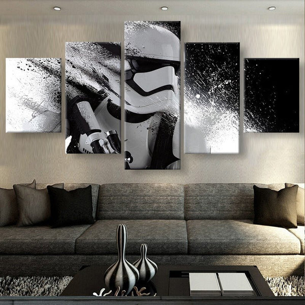 Star Wars Storm Trooper | Black Friday Cyber Monday Sale | Panel Wall Art Canvas