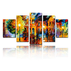 The Beautiful City by Afremov