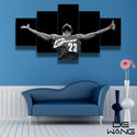 NBA Art Miami Heat Lebron James