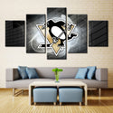 Pittsburgh Penguins NHL Team (Bricks)
