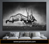 1 panel gemsbok canvas wall art | Panelwallart.com