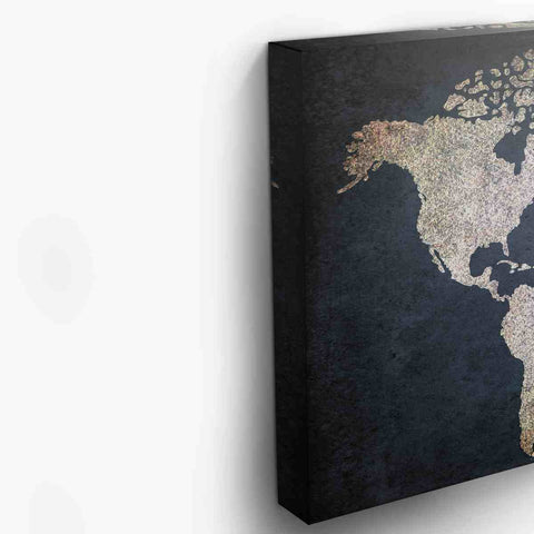 Navy blue and beige world map canvas albyden art panelwallart navy blue and beige world map canvas gumiabroncs Image collections