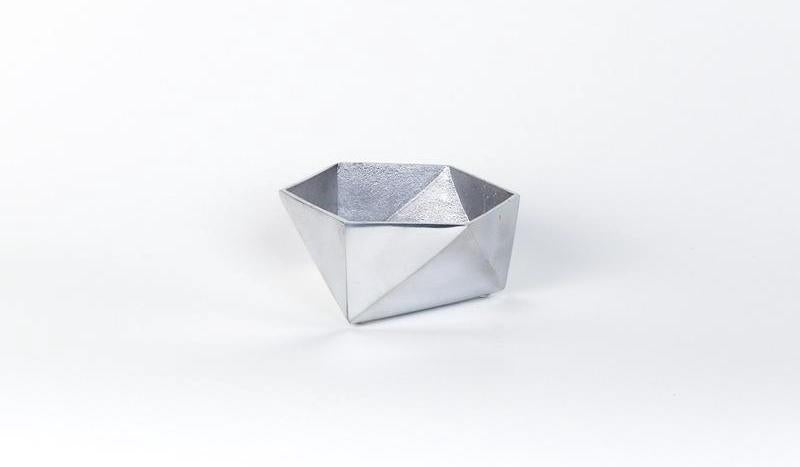 aluminum catch all decorative bowl