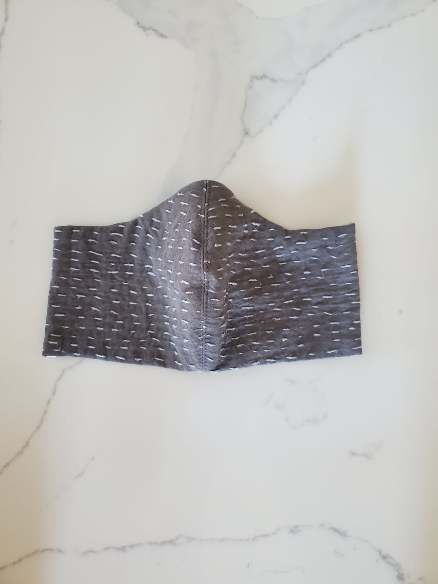 Face Mask in Slate - Sample