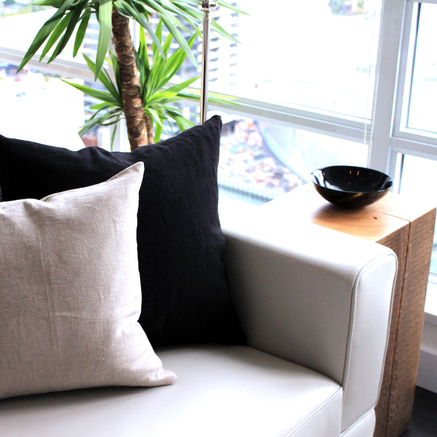 Sable Linen Pillow