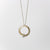 Flora Loop Necklace | Silver